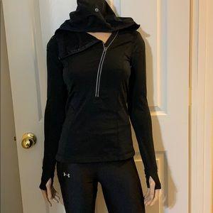 Lululemon Run: For It Pullover (Half Zip)